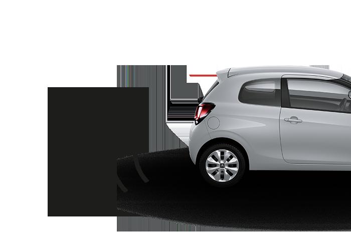 Sensores traseiros de ajuda ao estacionamento
