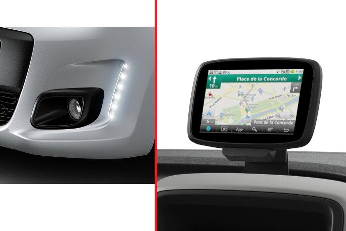 Navigation semi-intégré TomTom & Projecteurs antibrouillard