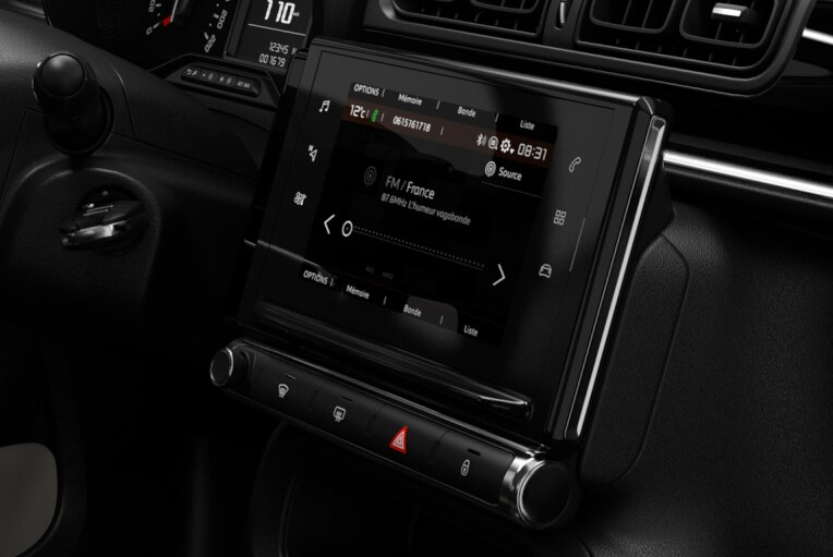 CITROËN Connect Radio com ecrã táctil 7""