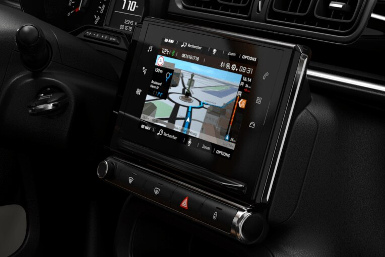 "CITROËN Connect NAV DAB mit 17-cm/7""-Touchscreen"