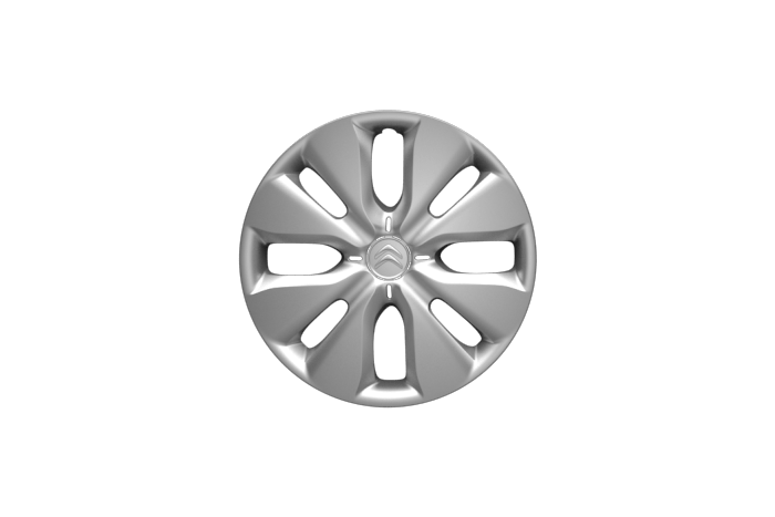 "15"" wheels with ""Arrow"" wheel covers"