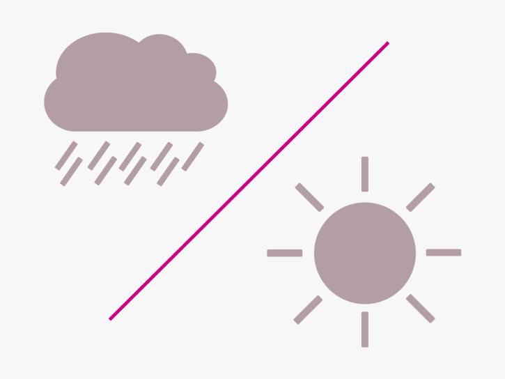 Licht- und Regensensor