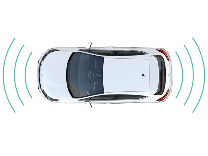 Wspomaganie parkowania (czujniki przód + tył)