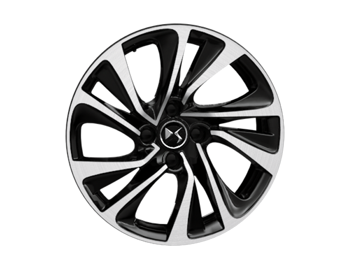 17 inch Canberra diamond-cut alloy wheels