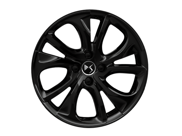18 inch 'Brisbane' gloss black alloy wheels