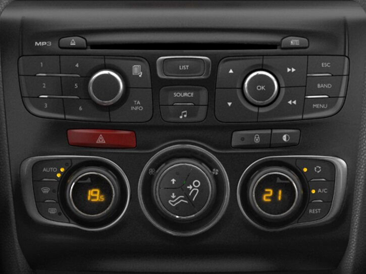 Automatic dual-zone air-conditioning