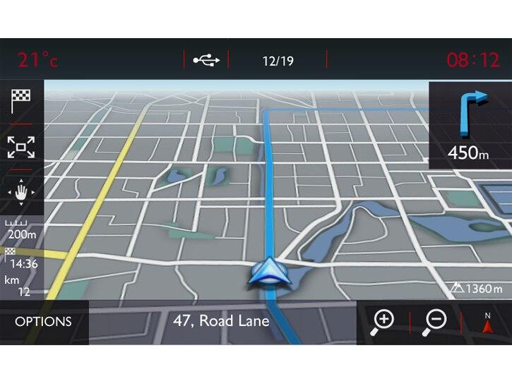 """DS Connect Nav + 7""""Touchscreen +Rückfahrkamera"""