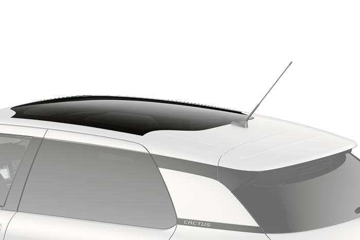 Panoráma üvegtető magas  hő-, fény- és UV védelemmel