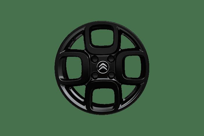 """Литые диски 205/55 R16"""" """"SQUARE Noire"""" черного цвета"""