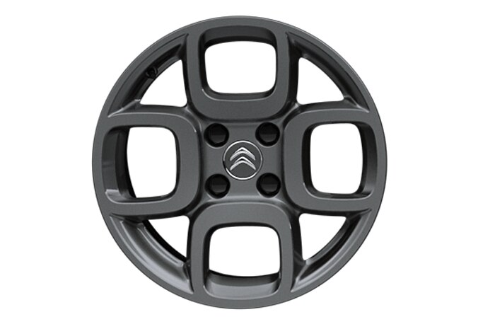 16 inch anthracite 'Square' alloy wheels