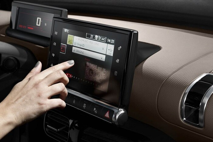 7 inch touchscreen