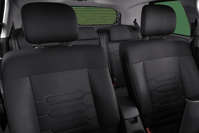 Hype Grey mit Stoff/- Leder Sitze Black