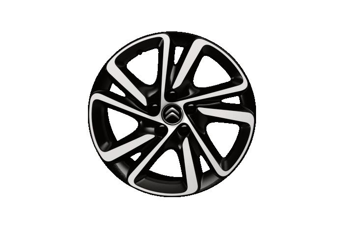 "17 inch lichtmetalen wielen ""Shamal Noir"" two tone"