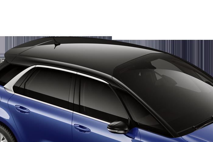 Bi-tone black roof