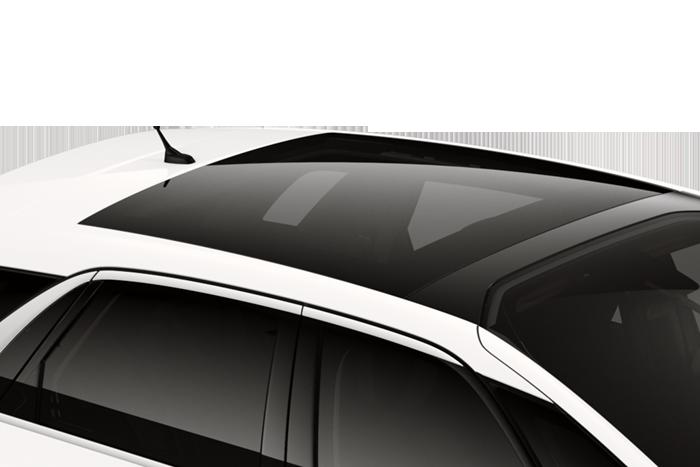 Presklená panoramatická strecha