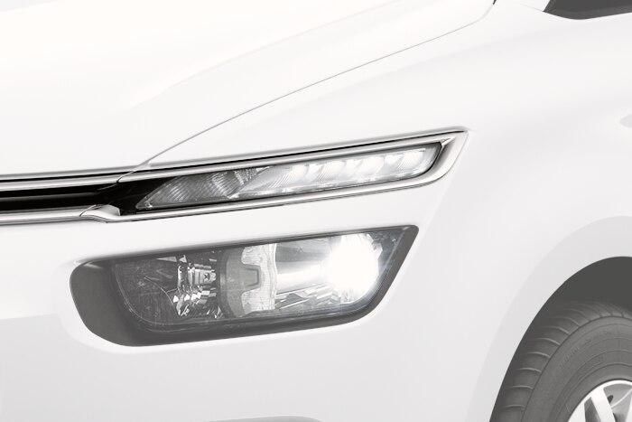 LED-Tagfahrlicht und Rückleuchten mit 3D-Effekt