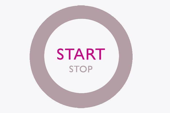 Motor Start-Stopp-Knopf