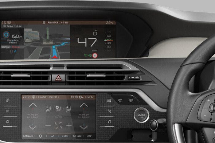 CITROËN Connect Nav su Touchpad 7