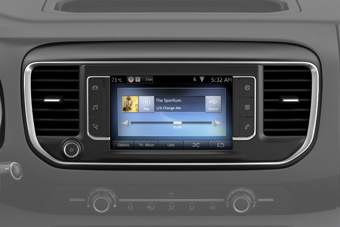 Citroen connect radio Dab