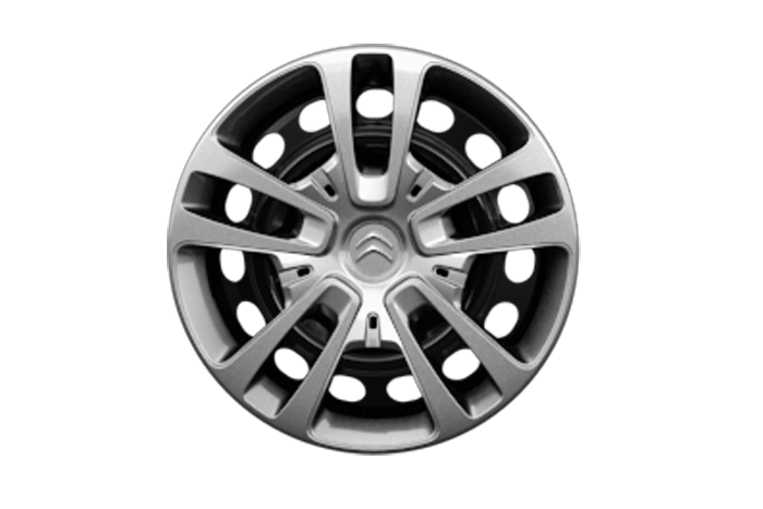 16 inch full wheel covers (Tyres: 215/60 R17)