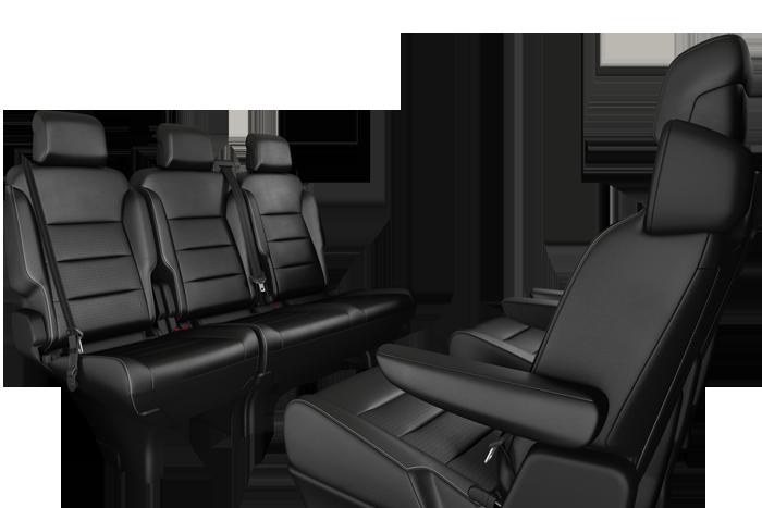 Rang 2 : 2 sièges individuels coulissants déposabl