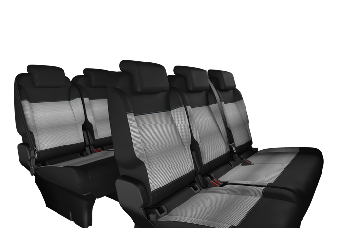 3-seater bench (1/3 2/3) in row 3