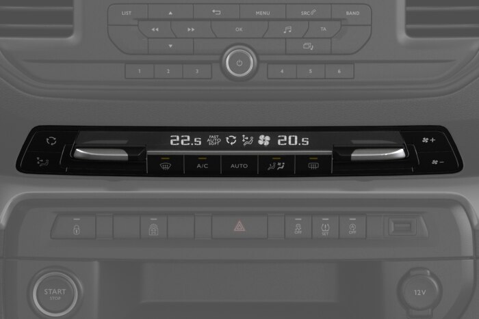 Automatic dual zone air conditioning