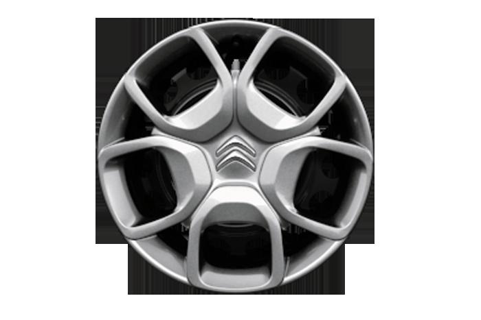 17'' čelični naplatci sa full cover ukrasnim poklopcem i sustavom GRIP CONTROL - povećava visinu vozila