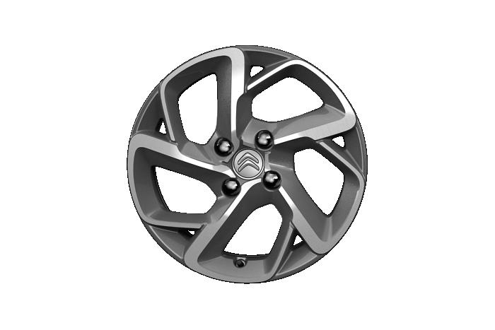 """Jantes alliage16"""" diamantées SAN DIEGO + roue de secours homogène 15"""""""
