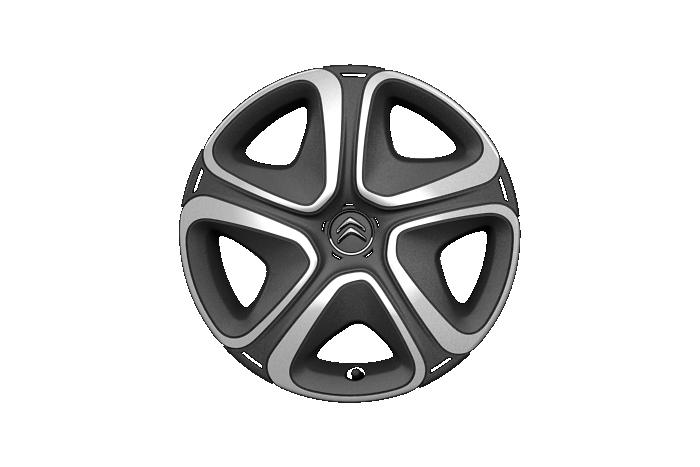 """Enjoliveurs 16"""" 3D + roue de secours homogène 15"""""""