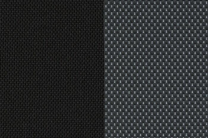 Сочетание тканей Lacina Mistral/ Omni Natte Mistral (темная)