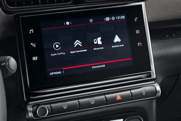 """7"""" Touchscreen en handmatige airconditioning"""