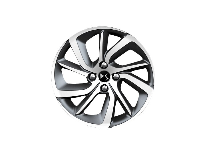 17 inch grey diamond-cut 'Aphrodite' alloy wheels