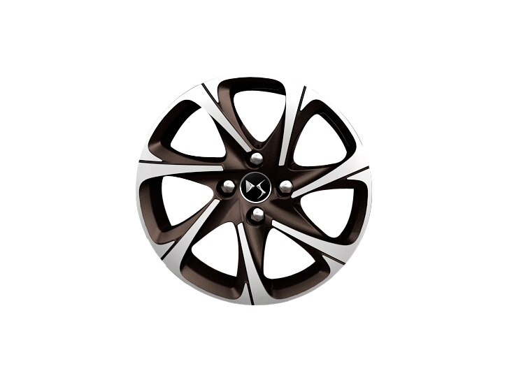 16 inch Topaz diamond-cut 'Blade' alloy wheels