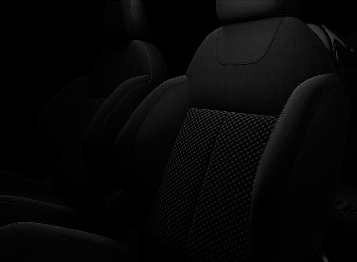Basalt Black 'Akinen' Alcantara and cloth Premium Nappa leather steering wheel