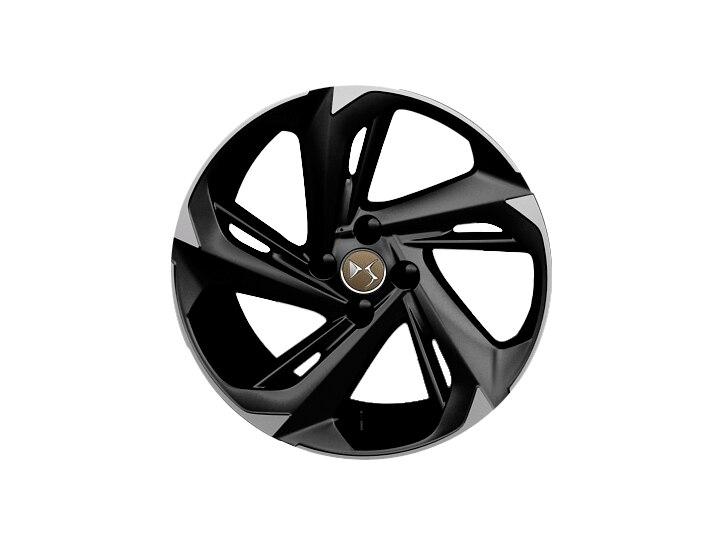 18 inch black ultra-lightweight alloy wheels
