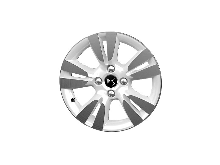16 inch white diamond cut 'Ashera' alloy wheels