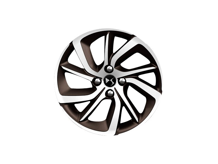 17 inch Topaz diamond-cut 'Aphrodite' alloy wheels