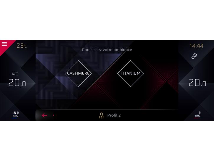Ds Sensorial Drive : opties ds 7 crossback configurator ds automobiles ~ Maxctalentgroup.com Avis de Voitures