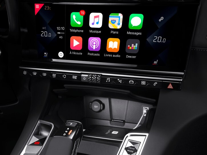 Mirror Screen (Android Auto™, Apple CarPlay ™ e MirrorLink®)