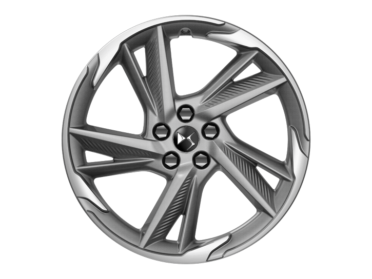 19 inch 'ROMA' Grey Anthra diamond-cut alloy wheels