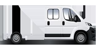 Jumper Châssis double cabine