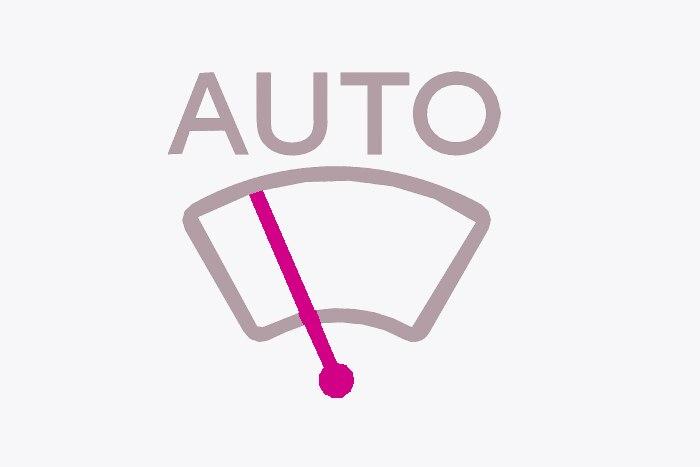 Feux de croisement et Essuie-vitre AV automatiques