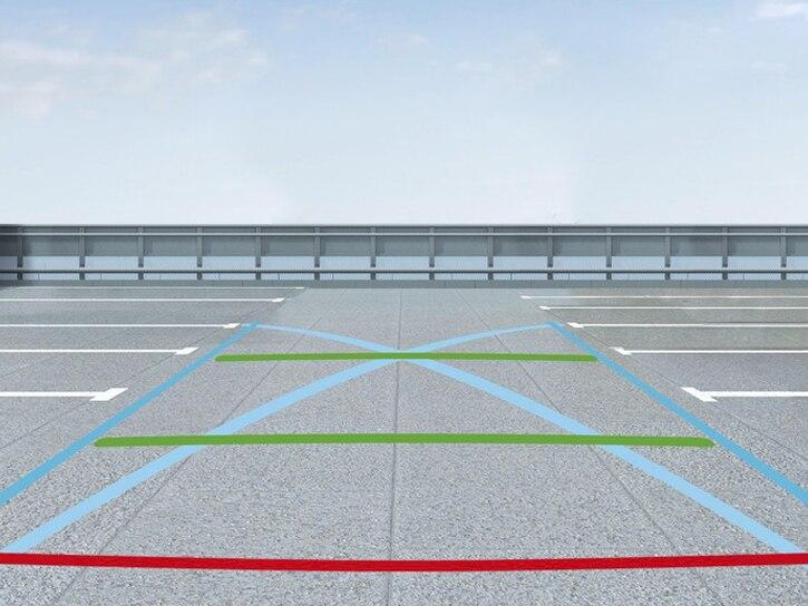 Wspomaganie parkowania: Wspomaganie parkowania: czujniki z tyłu i kamera cofania