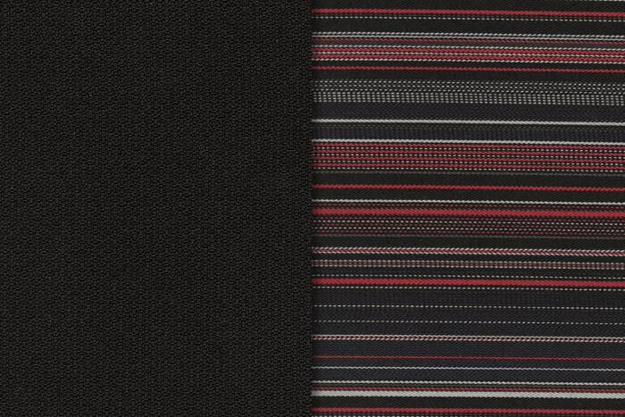 Garnissage tissu Zebra Red