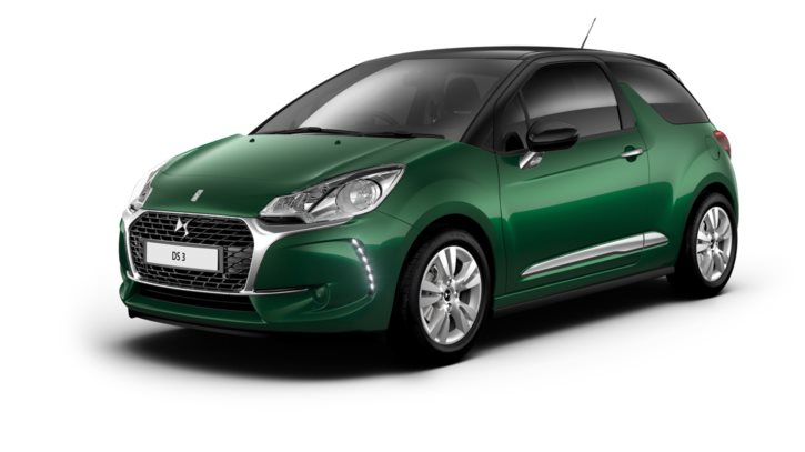 Sapphire Green body with Black roof