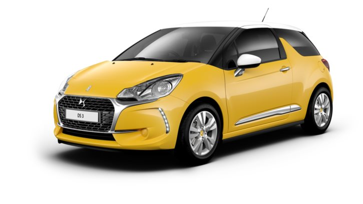Sport Yellow body colour with White roof